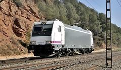 SORPRESA, 253.003 ROSCO (Andreu Anguera) Tags: locomotoraeléctrica renfe253 trax bombardier renfealquiler rosco andreuanguera