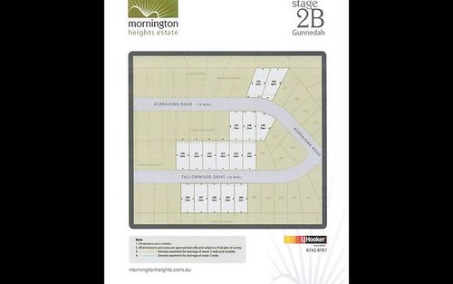 Lot 250 TALLOWWOOD DRIVE, Gunnedah NSW 2380