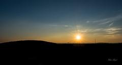 Sunshine (christophe.beydon) Tags: nikon nature nuage noir night nuit soleil sunshine soir ciel campagne chemin coucher campaign crépuscule bleu blanc extérieur effet 1855 d7100 landscape paysage paysages terre tranquillité