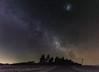summer milky way downunder (andrew.walker28) Tags: magellanic cloud galaxy carina nebula running chicken vela gum milky way southern hemisphere feltonqueensland australia stars starlight night nightscape long exposure landscape