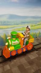 2017.1.1 賈小弟開火車 (amydon531) Tags: baby boys kids brothers justin jarvis family toddler cute 兒童樂園 兒童新樂園 taipei childrens amusement park