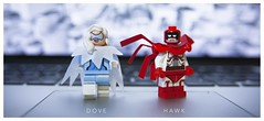 [DC] Duet (| Jonathan |) Tags: lego dc comics hawk dove superheroes duet blackest night kinda obscure but not really hank hall granger lords chaos order figbarf purist minifigures custom