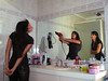 Spoil Yourself! (Matt Comi) Tags: topf25 photoshop bathroom mirror cool deleteme10 vanity topv999 experiment trick triplets clone topvaa 85points