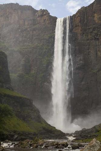 Maletsunyane Falls, Lesotho. 2006