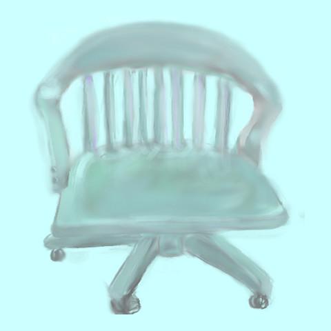Healing chair.