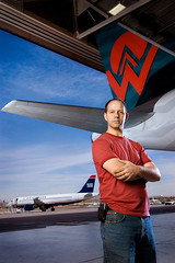 Adam Nollmeyer  - US Airways Editorial Photography - Tempe Arizona (ACME-Nollmeyer) Tags: arizona adam me phoenix self acme az editorial usair americawest onthejob nollmeyer coogan dancoogan acmephoto