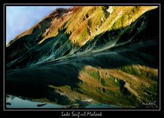 Saif-ul-Malook Lake (Kaafoor) Tags: 2005 trip travel pakistan vacation lake green love nature beautiful beauty river jeep north lakes prince september pakistani kaghan shogran nwfp ul saif kagan