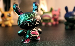 Painkiller (TerryJohnston) Tags: macro la kidrobot figures dunny painkiller thomashan losangelesseries