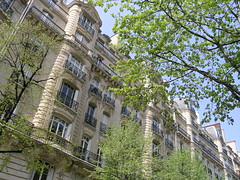 Avenue Mozart - Paris (France) (Meteorry) Tags: trees paris france green facade spring europe artnouveau arbres mozart printemps auteuil bellepoque meteorry avenuemozart belleepoaue