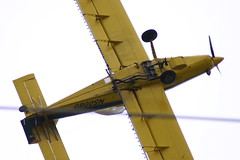 Belly of a crop duster (Jenni Reynolds-Kebler) Tags: tractor field plane airplane fly flying air crop duster 100views 200views agriculture cropduster airtractor