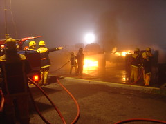Firefigher Training @ South Eastern Training Ground
