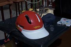 helmet (turbulentflow) Tags: bicycle helmet oldschool retro 1980s oldskool vetta