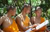 le-30_04_2016-wat-ban-khun-homkoi-w (christophe cochez) Tags: thailande thailand watbankhun omkoi maesariang monk bonze buddhist bouddhiste bouddhisme buddhism thail religion travel voyage asie asia asian siam école scool