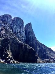 Near Cape Pillar. Tasmania.