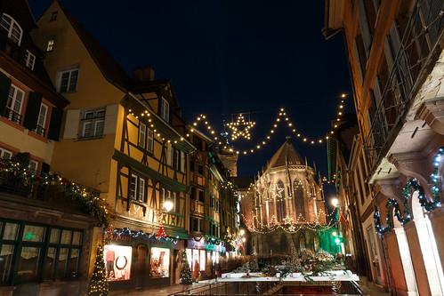 Rue de l'Église à Colmar