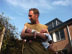 wouter + rob (ei) Tags: wouter rob culemborg evening light baby kid child avond kind
