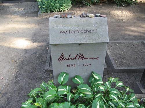 herbert marcuse's tombstone