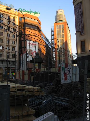 Madrid cerrado por obras