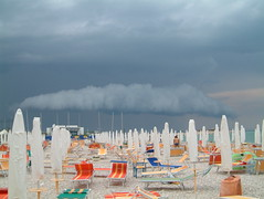 The enemy is coming fast (Snazzo) Tags: 2005 sea sky cloud storm holidays mare meteo adriatico fano snazzo