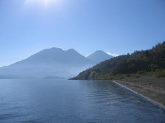 IMG_1518 (Carlos Fandango) Tags: lake america central bluewater guatamala volcaniclake atilan 20062007