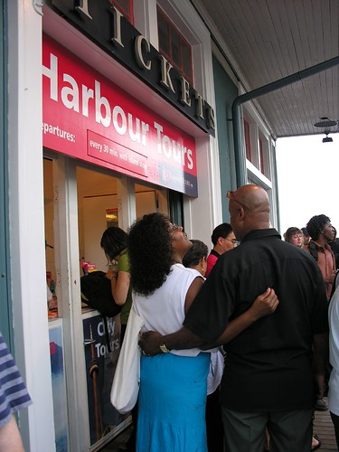 Getting Tickets for the Tour Boat by Old Shoe Woman, on Flickr