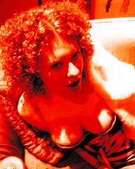 the Firey Redhead (eyewashdesign: A. Golden) Tags: woman breast colourful colorful cleavage breasts corset lingerie hair curly caught light orange color colour urban nyc alane golden 2005 eyes mouth face nose musician pose poser diva sexy ventroliquist sex tits chest thrust trashy blogspot blogging trash dirty nasty jetttset carla carlarhodes comedian comedianne performer talent talented hilarious funny entertaining press pr prop propage kudos dedicated dedication rack whateverworks library librarian ventriloquist puppeteer extrovert extroverted wonderful friend confidant partnerincrime comedienne