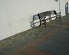 Spanje2005 (MiChaH) Tags: shadow holiday bench vakantie spain boulevard wroughtiron bank sh schaduw scavengerhunt spanje mc05negativespace 808sh11