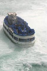 Maid of the Mist (redmann) Tags: canada ontario niagarafalls boat maidofthemist water waterfalls rough vacation