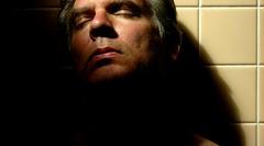 (O Caritas) Tags: light shadow people selfportrait me wall self bathroom tiles tribute ocaritas drjoanne cinedof