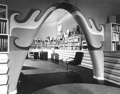 Goldman Bookstore, 1933 (Remiss63) Tags: old blackandwhite bw detail shop architecture modern book design blackwhite blog store 1930s paint arch decorative interior decoration stlouis archive modernism blogger bookstore gone architectural architect photograph missouri predigital artdeco saintlouis archival deco armstrong goldman demolished modernarchitecture modernist centralwestend cwe 1933 anthropomorphic harrisarmstrong saintlouismissouri btf blogsthatflickr nolongerextant architecturalruminations goldmanbookstore archidose jlgoldman jlessergoldman lessergoldman httpandrewraimistcom andrewraimistcom