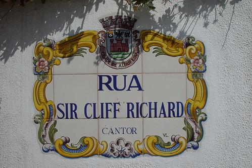 Rua Sir Cliff Richard
