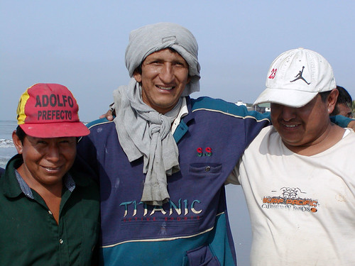 Fishermen of Playas Ecuador