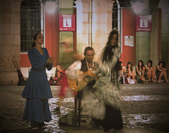 Flamenco (sole) Tags: madrid girls music dance spain europe guitar folklore plazamayor flamenco gypsies