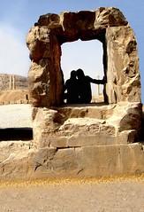 [FRamed FRiendship]  T.A (Madame Evil) Tags: friend friendship stone frame history shiraz