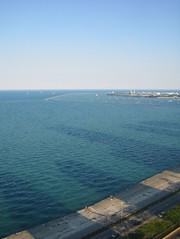 LSD Drop Shadow (fueledbycoffee) Tags: lakeshoredrive chicago lsd shadows lakemichigan goldcoast gbrearview