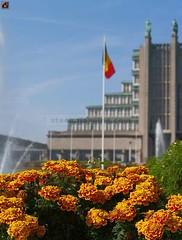 Brussels Centennial Halls.