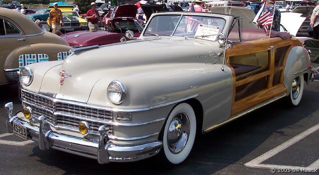stlouis missouri us usa auto car classic 1947 chrysler town country
