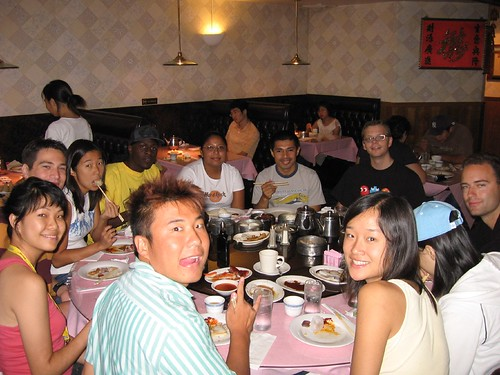 Dim sum with AIESEC people