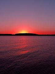 Sunset (JoshuaDavisPhotography) Tags: sunset sky lake deleteme deleteme2 tree deleteme3 deleteme4 water evening delaware welcome islet delmarva criticism criticismwelcome articnomad fcsetsrises