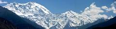 Panoramic Nanga Parbat (NotMicroButSoft (Fallen in Love with Ghizar, GB)) Tags: pakistan snow nature ilovenature peak northernareas nangaparbat killermountain hamalayha gaglot exhibition14august