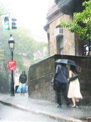 Blessed Rain, 2 of 2 (*CA*) Tags: ri rain umbrella providence lightlypaintedpixelsutatafeature utatapaints