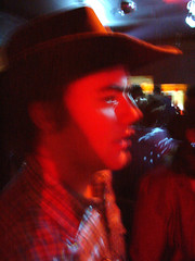 dave after the drugs kicked in (reegmo) Tags: dave alexander motion bur starlight cowboy cowboyhat davealexander