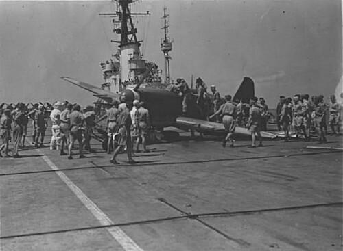 Warbird picture - Fairey Firefly crash