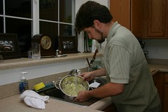 Making Creamy Cole Slaw (Jason Sholar) Tags: gourmetsurvivor coleslaw cooking