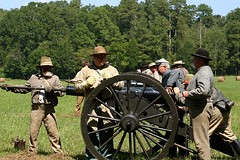 Battle of Chickamauga (Rachel Pennington) Tags: chickamaugachattanooganationalpark chickamaugabattlefield battleofchickamauga chickamauga georgia reenactors cannon firing civilwar