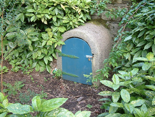 Troll door, by Irish Typepad