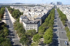 From the top of Arc de Triomphe, Paris (Julie70) Tags: 2005 paris france blog 500plus photos top images september mostinteresting topf topv777 flickrfavs mostviews parisbalade mostfav jourdepatrimoine julie70 topvjulie70 topfavs copyrightjuliekertesz juliekertesz bigfavs flickrmostfavorited 100mostinteresting journesdepatrimoine 120of50000