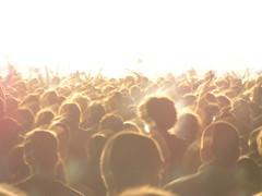 [フリー画像] [人物写真] [一般ポートレイト] [観客] [大群/群集]       [フリー素材]