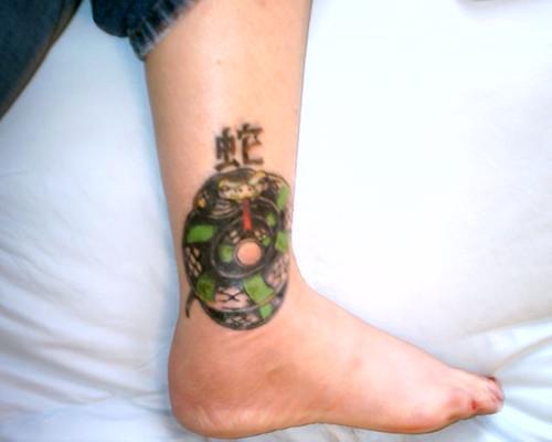 Brand new tattoo Still puffy and