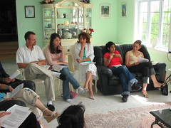 discussions (dragfyre) Tags: people canada ottawa meeting study bahai bahais reflectionmeeting